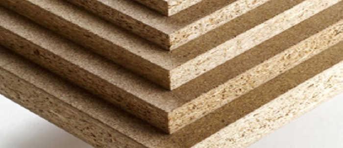 materiale utilizzato per la costruzione dei mobili, truciolare