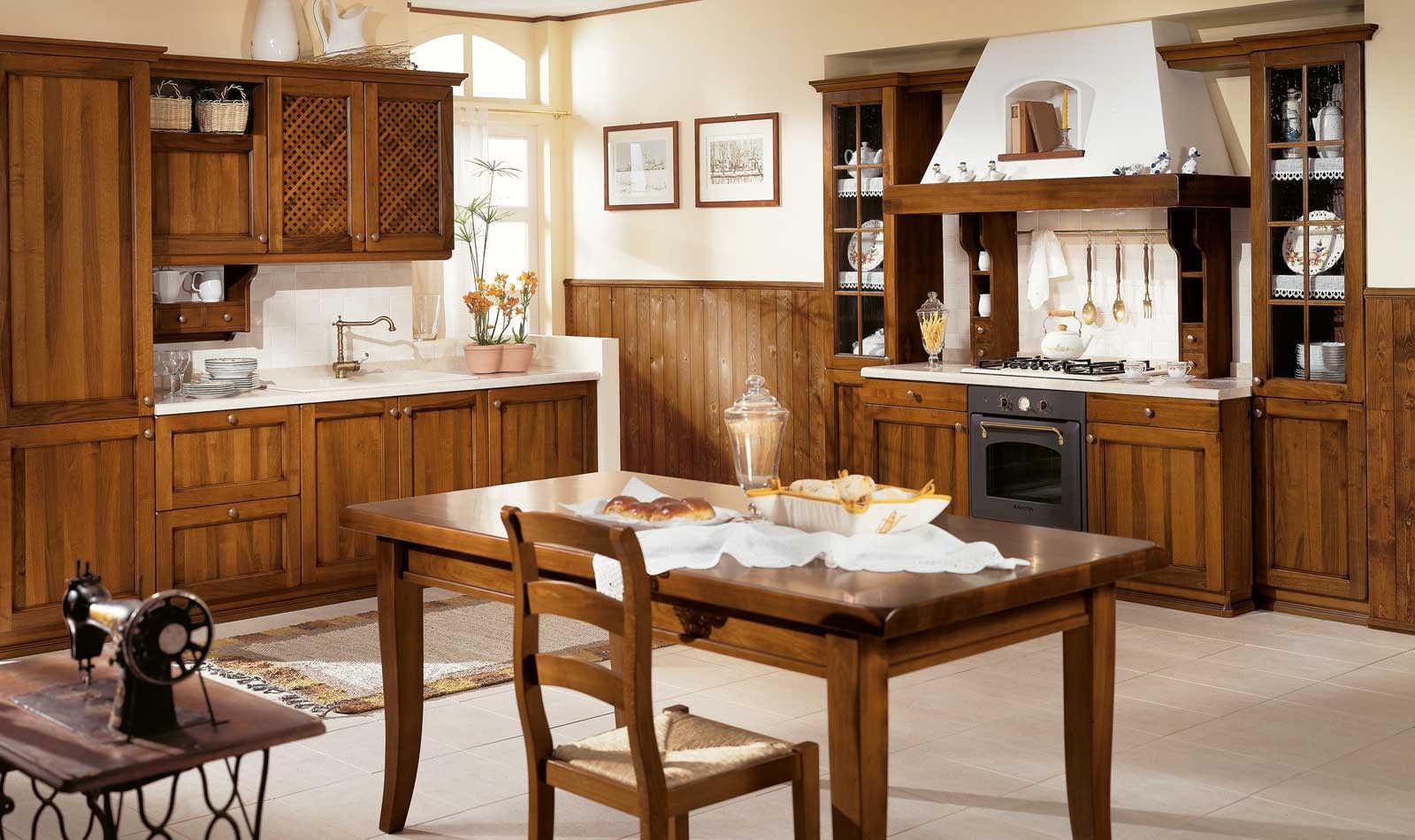 Cucina classica Lucrezia