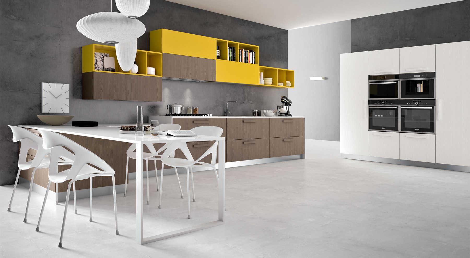 Cucina moderna penta